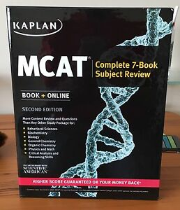 Kaplan MCAT 7-Book Subject Review Second Edition