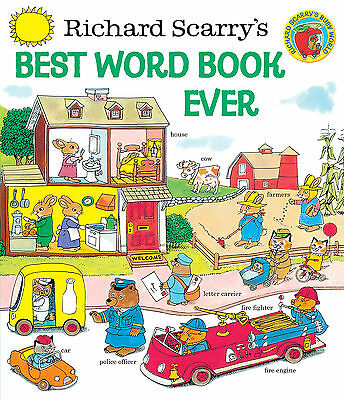 Best Word Book Ever by Richard Scarry (Hardcover) - New on Rummage
