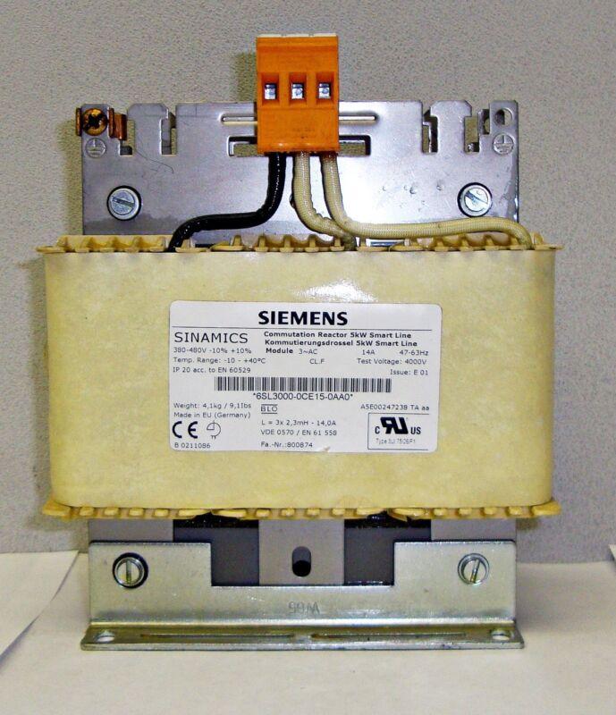 New Siemens Commutation Reactor 5KW Smart Line 3~AC 14A 14093ELL