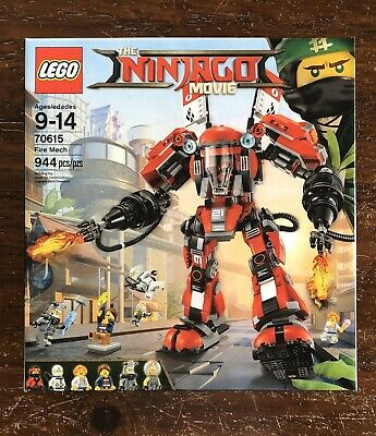 NEW LEGO 70615 THE LEGO NINJAGO MOVIE FIRE MECH (KAI) x6 MINIFIGURES RETIRED