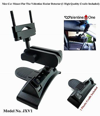 Nice Car Mount For The Valentine Radar Detector (1 High Quality Cradle Included)