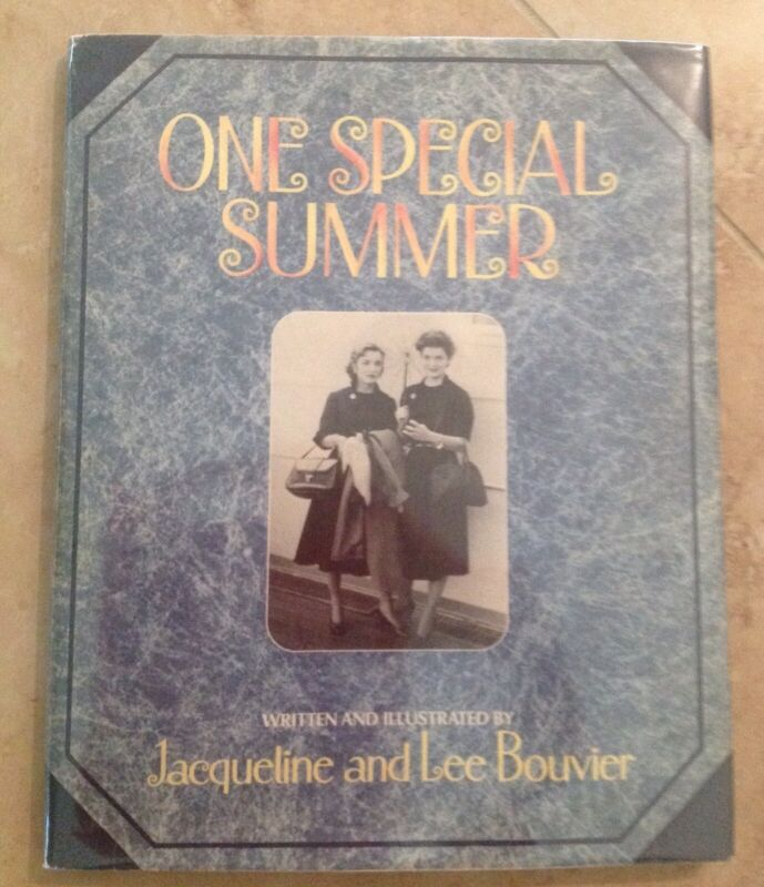 One Special Summer Hardcover Dustjacket Lee Radziwill Jackie Kennedy Book