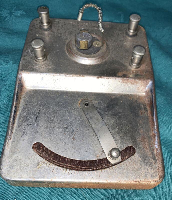 Vintage Philmore  Co., GALENA Crystal Radio