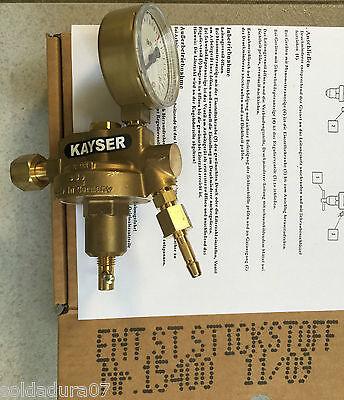 Regulator Pipeline 0-10 Bar Gas Nitrogen K10 Kayser 15400 - Made In Germany
