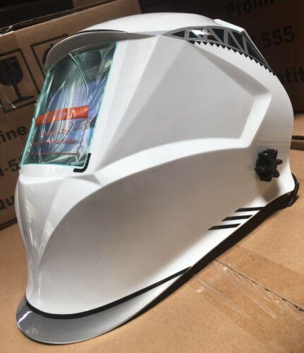 WFF Solar Auto Darkening Welding/Grinding Helmet shade 4 to 13 w/ 4 sensors