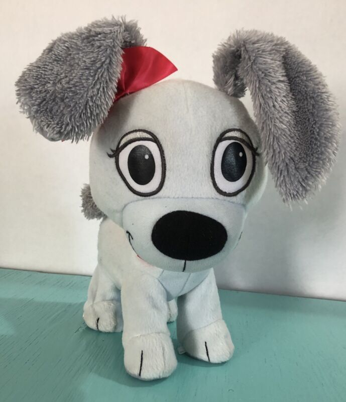 "2011 Hasbro Plush Pound Puppies ""Rebound McLeish""  11"" Tall Bounces For Me Puppy"