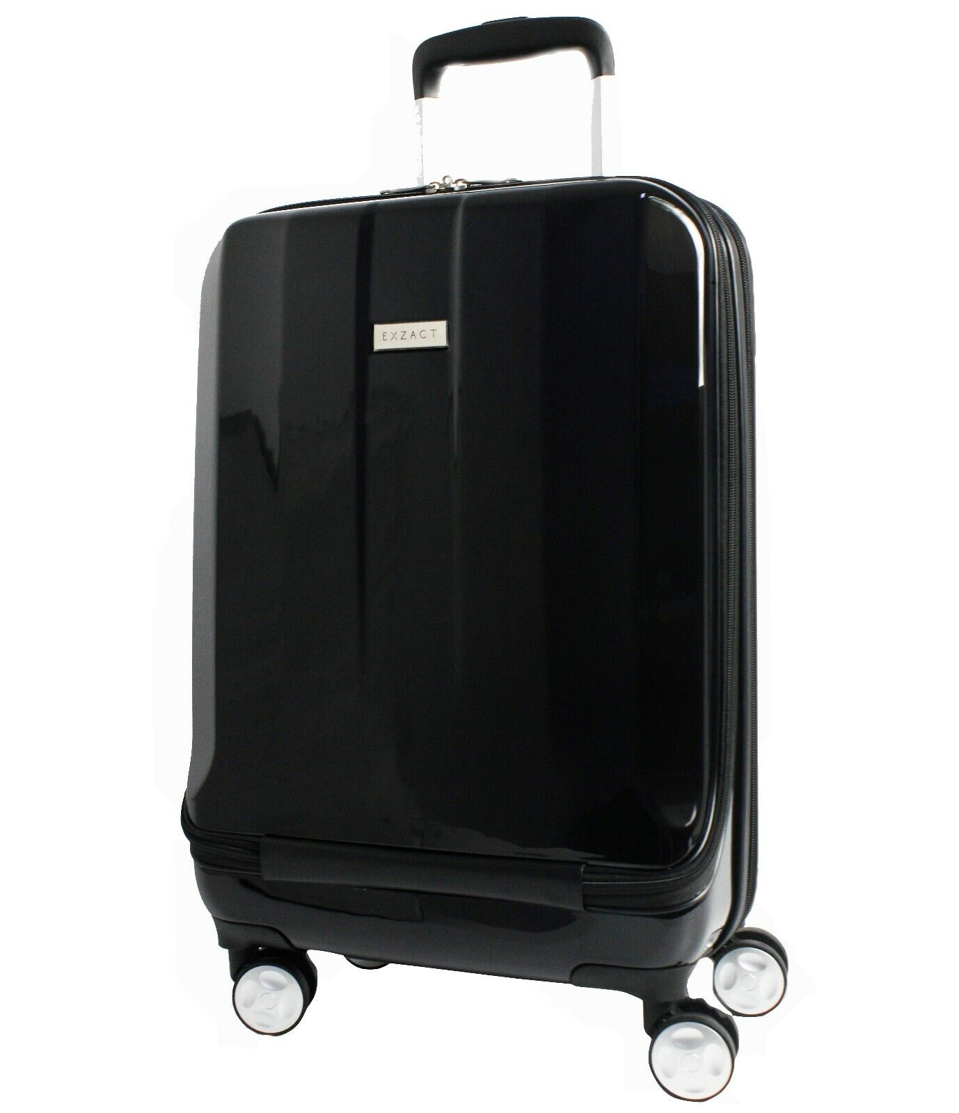 Exzact Cabin Luggage/Carry-on Bag 20 / Hard Shell / Front Pocket Laptop Black - $24.99