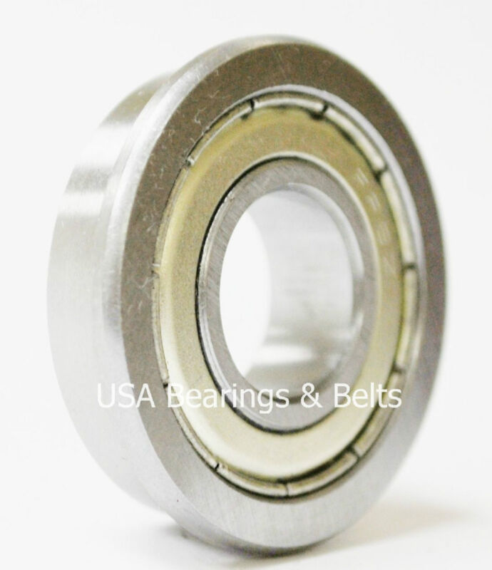 "(50)FR8-ZZ Premium ABEC 3 Flanged Bearings1/2"" x 1-1/8"",FR8 Z Synthetic Grease"