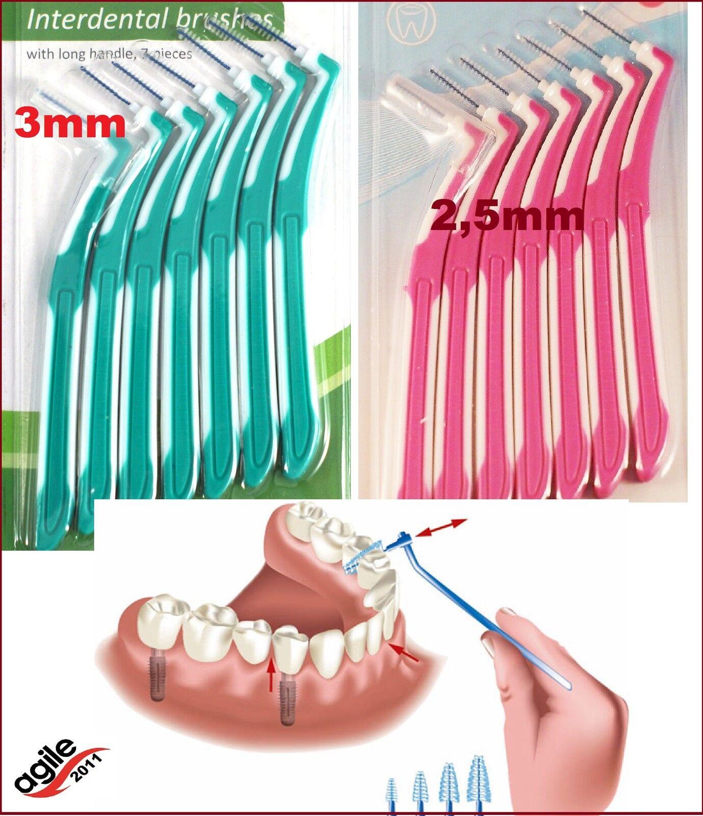 Interdentalbürste Zahnzwischenraumbürste  2,5mm Oder 3mm Interdental