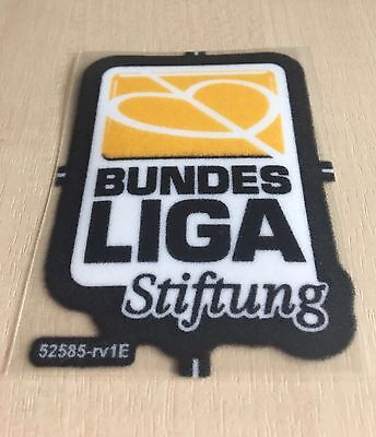 Bundesliga Stiftung Patch Trikot Badge from 2009/10 Lextra Felt original Germany