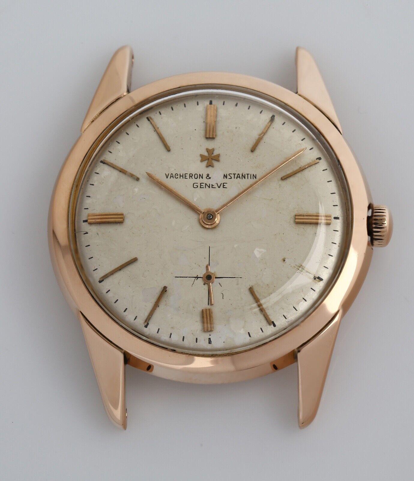Vintage Vacheron Constantin 18k Rose Gold 1940's Cal. 1001 Wristwatch - watch picture 1