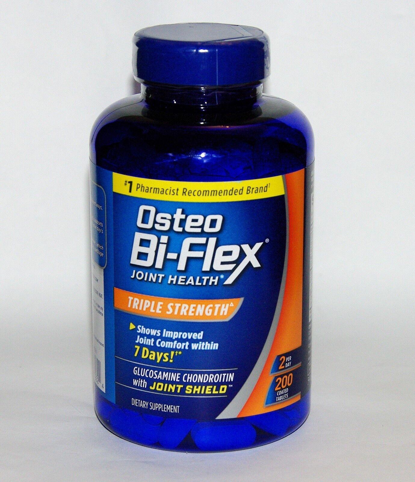 Osteo Bi-Flex Triple Strength, Bottels New Your Pick 170, 340, 510, 680 Caplets