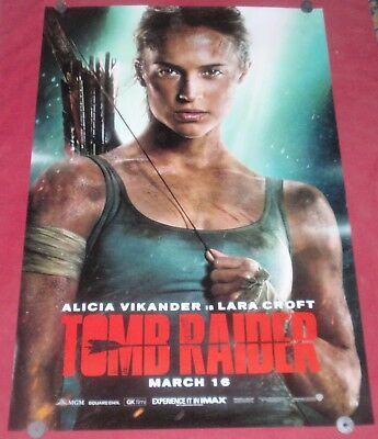 A5 A4 A3 A2 A1 HUGE Sizes Tomb Raider 2018 Teaser Giant Poster
