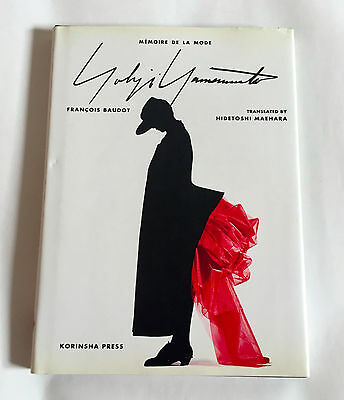 YOHJI YAMAMOTO Memoire De La Mode JAPAN RARE PHOTO BOOK 1997 Fashion