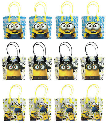 Disney Minion Despicable Me Birthday Party Favor Goody Loot Gift Candy Bags - Despicable Me Party Bags