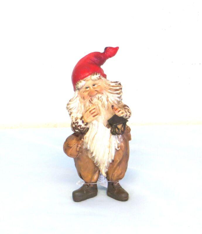 Norwegian Nisse Santa Thinking Figurine Kjell Midthun Norway NEW