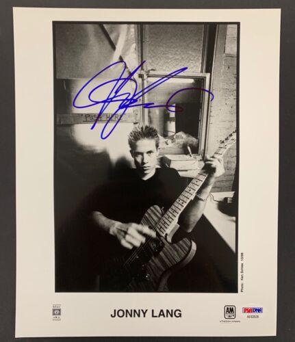 Jonny Lang Signed Photo PSA/DNA 8x10 Autograph Blues Guitarist 1998 Promotion