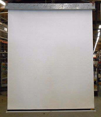 Ravens Model 210 Pull Down Projector Screen 72 Width 86 Length