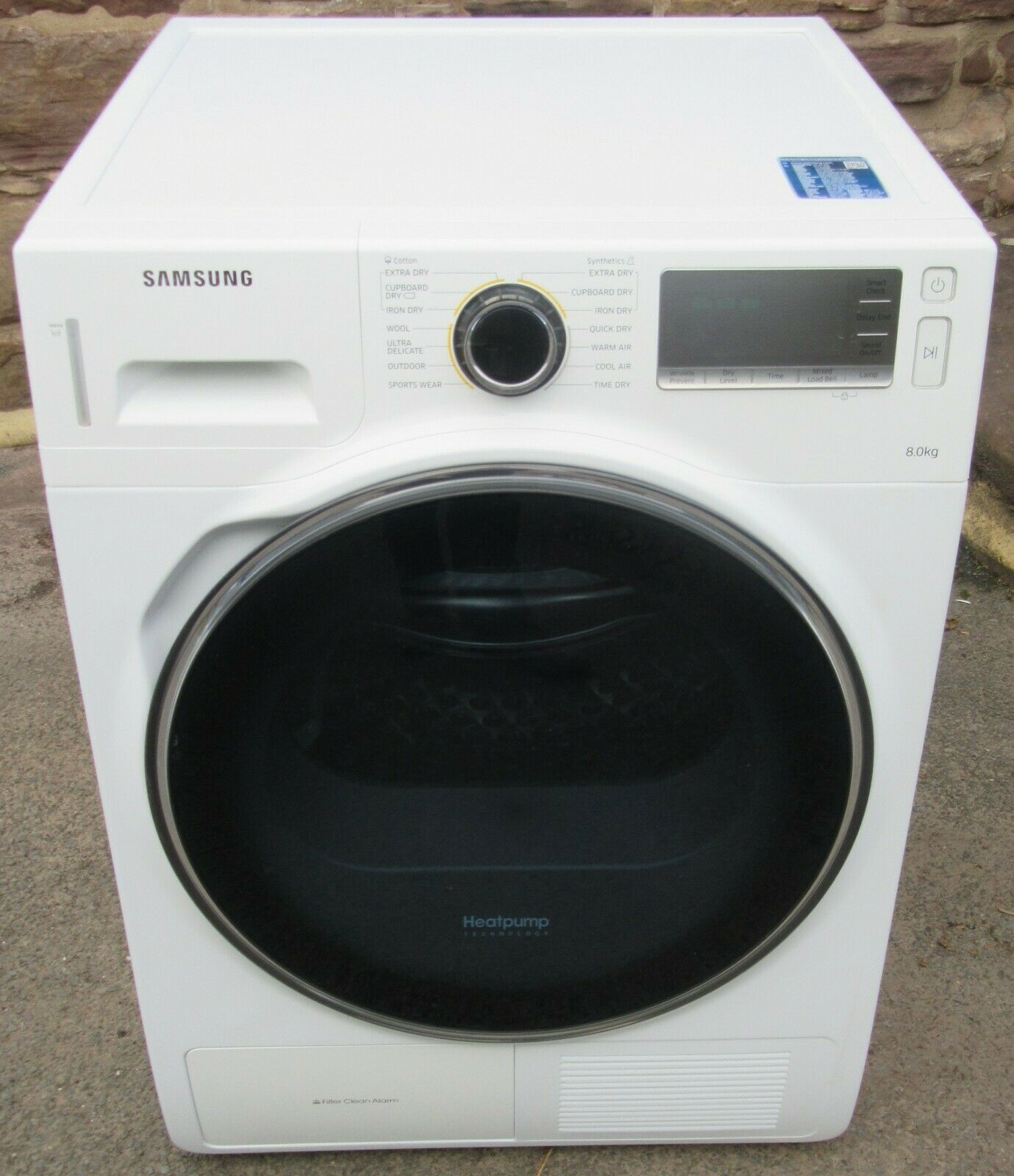SAMSUNG DV80H8100HW , 8kg A++ ENERGY HEAT PUMP dryer, 12M warranty!* RRP £729 *5