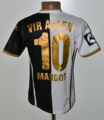 VFR AALEN GERMANY 2010'S MATCH WORN ISSUE FOOTBALL SHIRT SALLER #10 MARGOT image