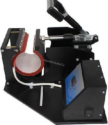 Dual Display Heat Press Transfer Sublimation Machine For Cup Coffee Mug Easy