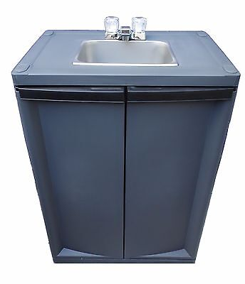 Self Contained Sink Mobile Sink Portable Handwash Sink With Warm Waterdark G