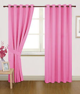 pink bedroom curtains ebay