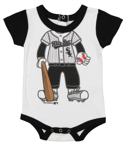 OuterStuff MLB Infant Chicago White Sox Baseball Bodysuit, W