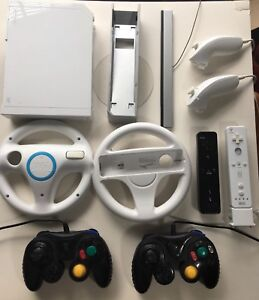 Nintendo Wii with Controllers, Games and Accessories