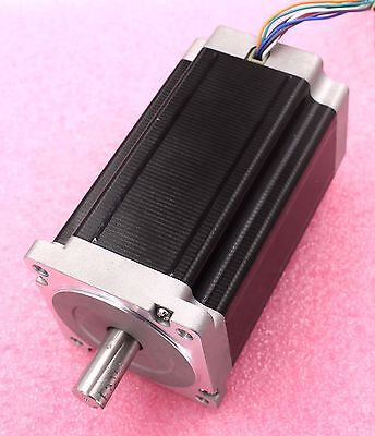 34h610h - Nema34 Single Shaft 4.5a1666oz-in Stepper Motor