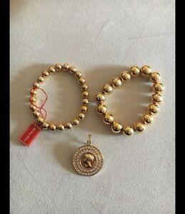 Gold or silver bracelet