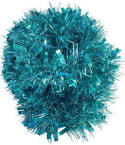 Turquoise-Chunky-Fine-Tinsel-4-Metre-Christmas-Tinsel-Tree-Decor-TI422TU