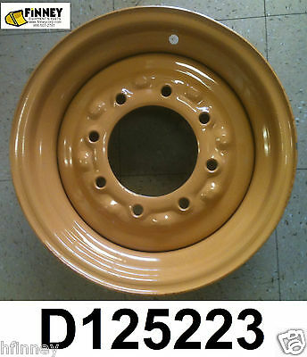 Case 580b 580c 580d 580se 580k 580sk Backhoe 2wd Front Rim Wheel New D125223