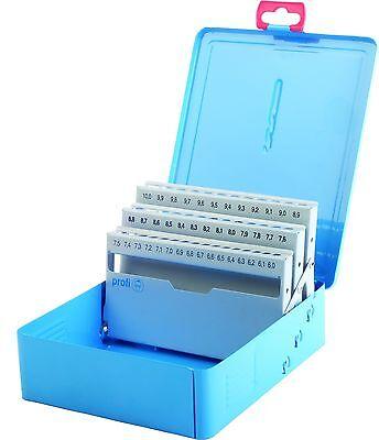 Profesional Cassette Azul Metal-Deposito Vacío Para 41 Broca 6,0-10,0 X 0,1MM
