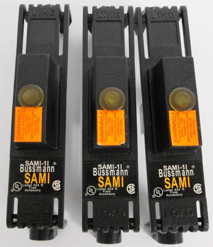 (3) Buss SAMI-1I Indicating Fuse Cover