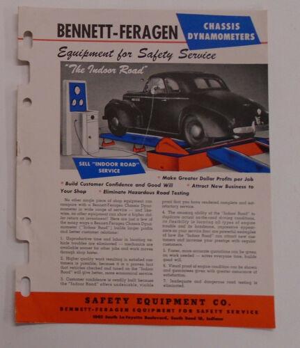 Safety Equipment Co, Bennett-Feragen Chasis Dynameter literature