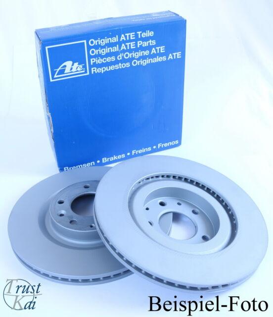 ATE 2x Bremsscheibe VORNE für Mazda MPV II LW 2,0 DI 100kW Bremsscheibensatz