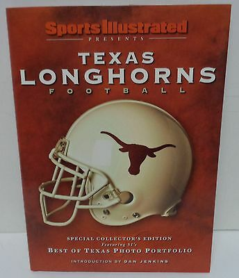 Sports Illustrated Texas Longhorns Football Hard Cover Book NEW