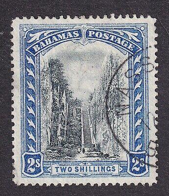 Bahamas 1901 2/- black/blue used