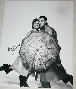 Singin-in-the-Rain-Debbie-Reynolds-signed-11-x-14-How-Sweet-It-Is-Proof-COA