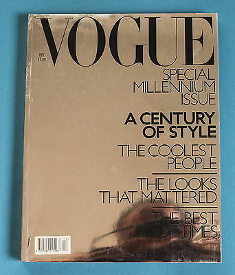 VOGUE December 1999 Paperback: Millennium Issue - A Century Of Style