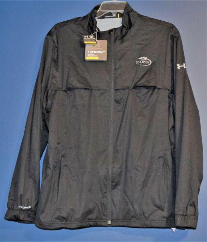 Under Armour UA Golf Storm 3 Rain Waterproof Jacket Black US Open Size XL