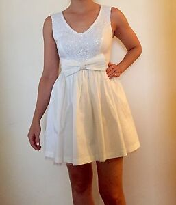 New Size 8 White Dress Somerton Park Holdfast Bay Preview