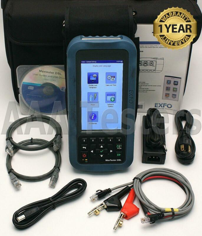 EXFO CoLT-350 MaxTester ADSL2+ Triple Play Service Tester CoLT-350-V2XA CoLT 350