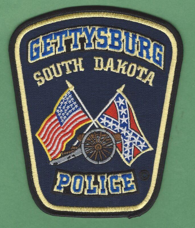 GETTYSBURG SOUTH DAKOTA POLICE SHOULDER PATCH