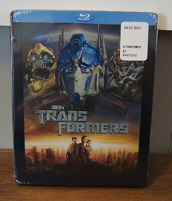 New! Transformers Limited Edition Collectible Steelbook Blu-ray