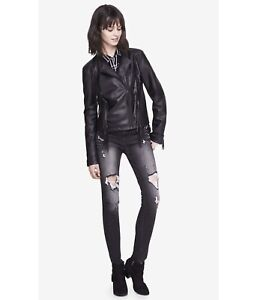 Minus the Leather Jacket EXPRESS size S
