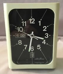 Seth Thomas Calendar Alarm Clock Model 3HA001
