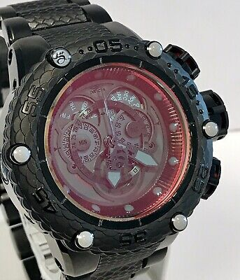 Invicta Subaqua Noma VI 100/300 Swiss Chrono Tinted Crystal Black Qtz Mens Watch