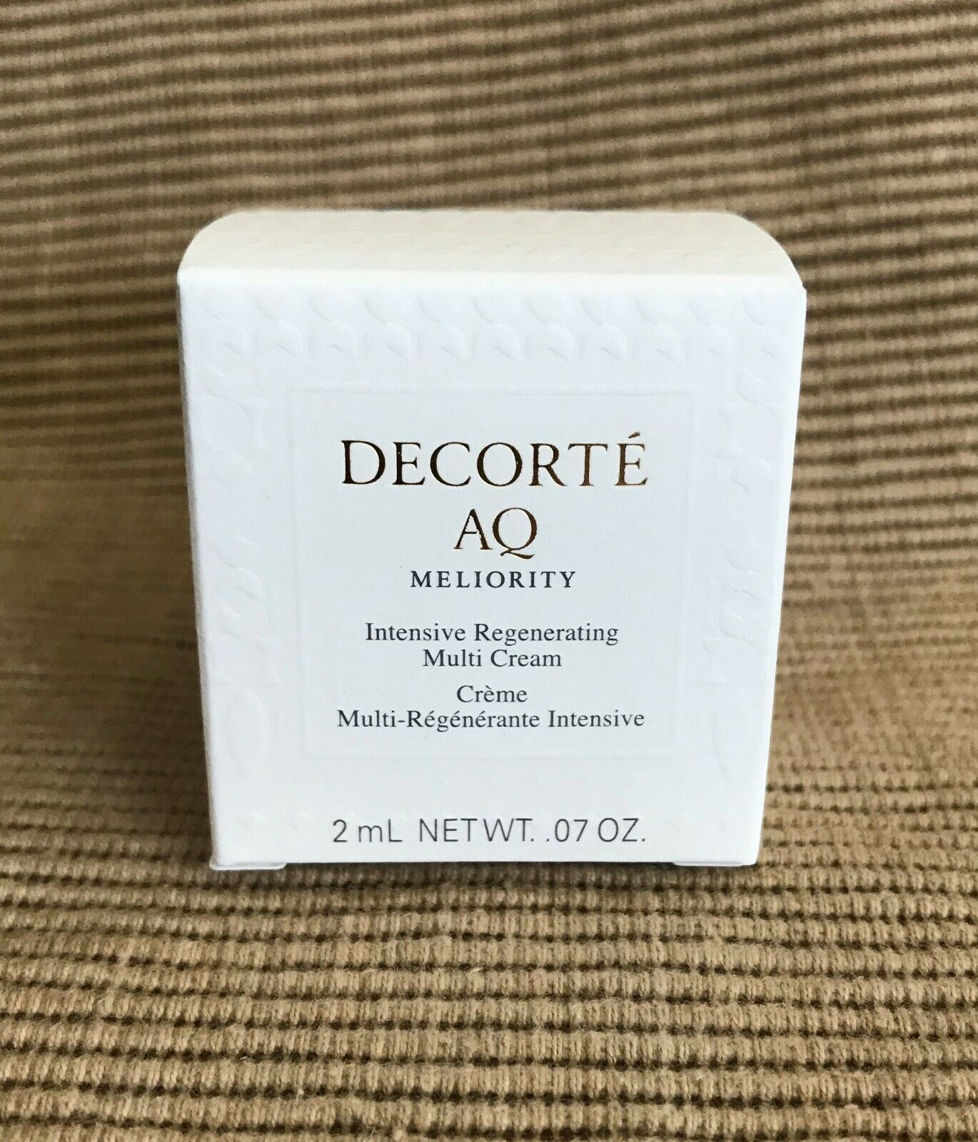 New Decorte AQ Meliority Intensive Regenerating Multi Cream 2ML .07 Oz Travel  - $199.99